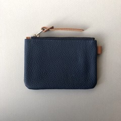 Fang Wallet Grain Navy