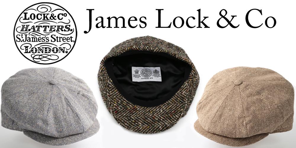 滑らかで手触りの良いシルクで作られたJames LockのMuirfieldツイードキャップ