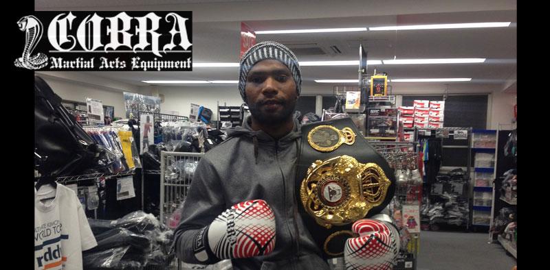 元WBA世界スーパーフェザー級スーパー王者 ジェスレル・コラレス