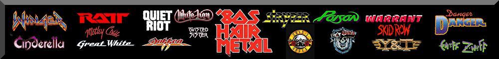 80's HAIR METAL