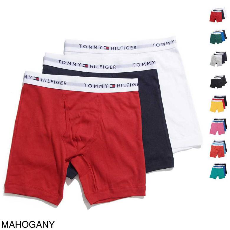 TOMMY HILFIGER トミーヒルフィガー ボクサーパンツ/3PACK CLASSIC BOXER BRIEF【返品交換不可】 メンズ