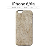 iPhone6s ケース 天然木 Man&Wood Engraving Ivy(マンアンドウッド エングレイビングアイビー)アイフォン iPhone6